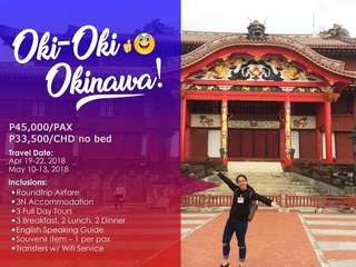 OKINAWA (JAPAN) PROMO PACKAGE