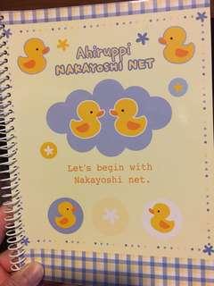 黃色小鴨筆記簿