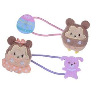 Japan Disneystore Disney Store Disney ufufy Mickey & Minnie Mouse Egg Hair Pony