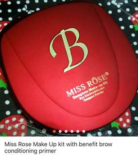 Miss A Make Up kit with free Benefit Brow Conditioning Primer