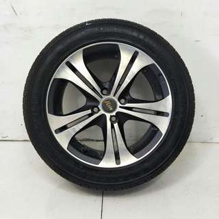 15 '' Sport Rim With Tyre 4x100 (SR968)