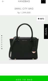 Charles and keith black small city