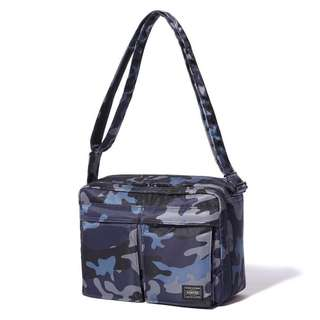 Tokyo headporter jungle shoulder bag L size head porter navy blue tanker 迷彩 軍綠 軍藍