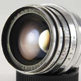 **日光銀鹽** 蘇聯 俄鏡 Jupiter 8 50mm F2.0 M39 附贈NEX/A7/A9轉接環 #067
