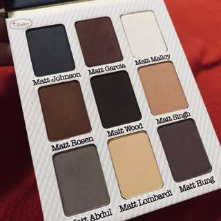 The balm meet matte eyeshadow palette