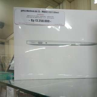 Kredit tanpa kartu kredit Macbook air13 mqd32