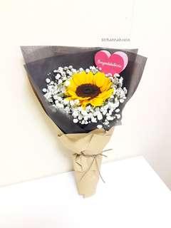Fresh Flower 🌼🌻 Sunflower in Kraft
