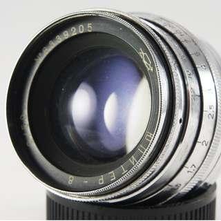 **日光銀鹽** 蘇聯 俄鏡 Jupiter 8 50mm F2.0 M39 附贈NEX/A7/A9轉接環 #205