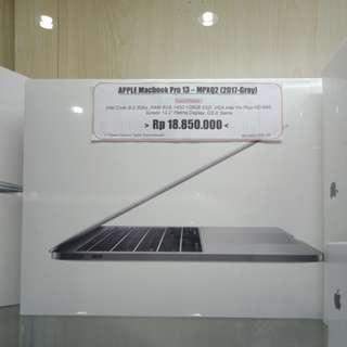 Kredit tanpa kartu kredit Macbook pro13 mpxq2