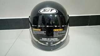 Helm Half Face SST Racer Polos