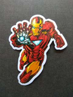 Marvel Iron Man Sticker Luggage Laptop Decal