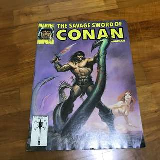 Savage Sword of Conan Marvel Magazine