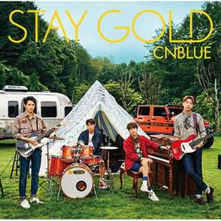 CNBLUE Japan Album: Stay Gold (Standard Version) - CD only
