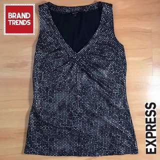 Express Sleeveless Black Top