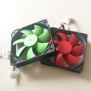12cm PC fan 12V 0.3A 1200rpm