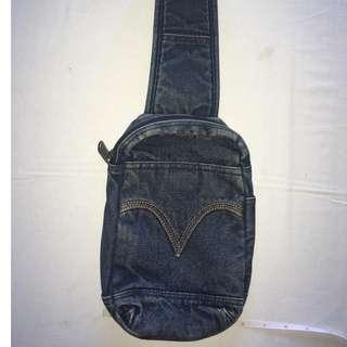 Authentic Levis DENIM Body Bag Unisex