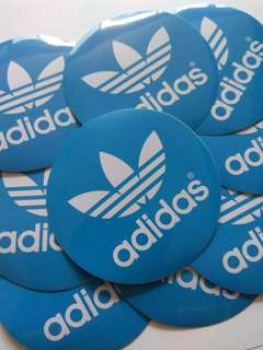 Adidas Originals Logo Sticker Luggage Laptop Skateboard Vinyl (1 piece)