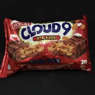JackJill Cloud9plus chocolate caramel peanuts 240g