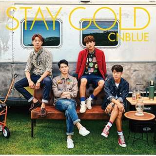 CNBLUE Japan Album: Stay Gold (Version A) - CD and DVD Music Video