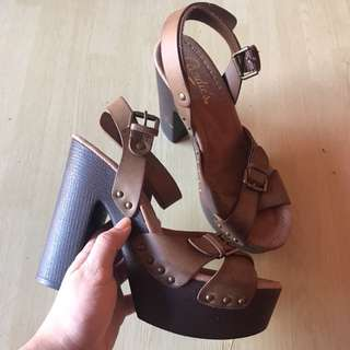 Candies chunky heels