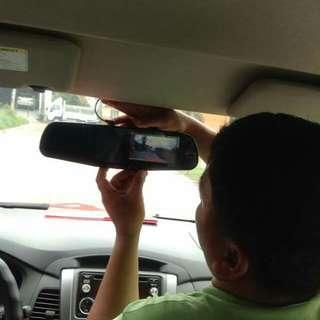 Dual dashcam