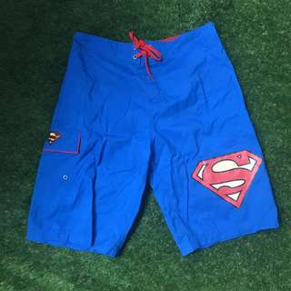 Superman Gartered Swim Shorts