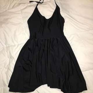 american apparel halter dress