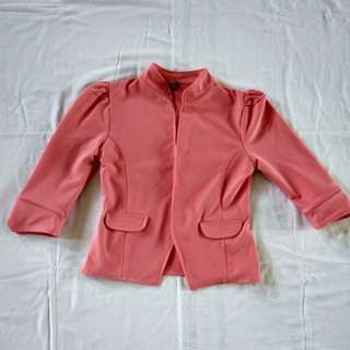 Blazer Preloved Peach Color