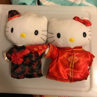Brand new hello kitty dear daniel Chinese couple