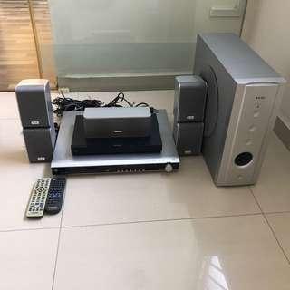 Teac DVD home theatre system PL-D3200