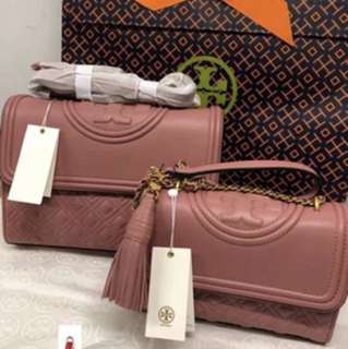 現貨! Tory burch fleming convertible shoulder bag
