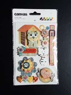 BN 3D Pop-up Stickers (Design 1)