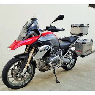 BMW R1200GS Reg date 28/03/2014 Mileage 48,900