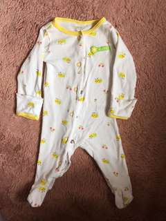 Carters baby sleepsuit