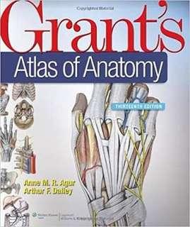 Grant's Atlas of Anatomy - 2013 edition