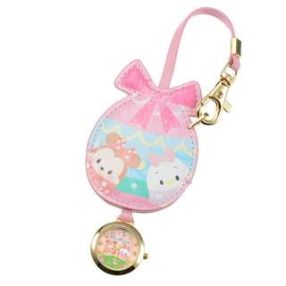 Japan Disneystore Disney Store Disney Ufufy Minnie & Daisy Egg Bag Charm with Watch
