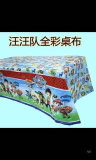 PO kids party tables cloth .. better quality and design