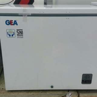 Gea chest freezer kredit tanpa CC 3 menit saja