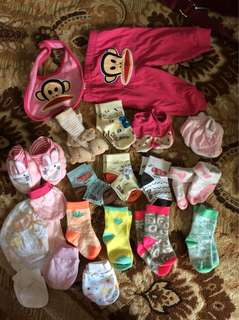 All items baby clothes and bag