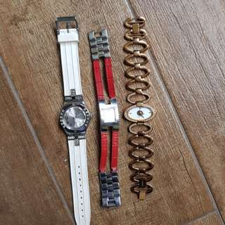 All for 40- Authentic Tommy Hilfiger, swatch, Esprit watch