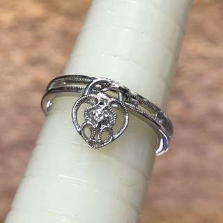 18kt MABELLE diamond ring