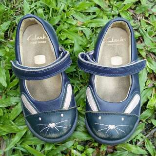 Clarks original kids flat shoes