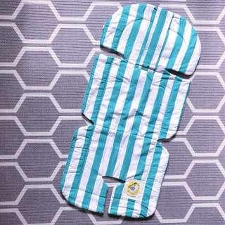 Pram seat liner light padding cover