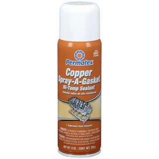 Permatex® Copper Spray-A-Gasket® Hi-Temp Sealant (255g)