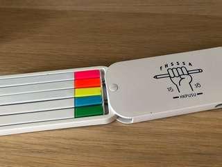 全新5色螢光筆 溫書必備📚🖊