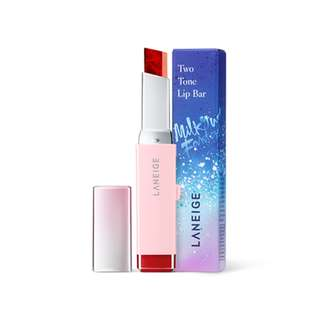 Two Tone Lip Bar [Holiday Limited Edition] - 02 Mystic rose (Laneige)