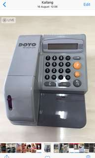 Electronic Check Writer