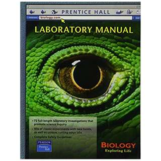 Biology Exploring Life: Laboratory Manual