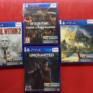 PS4 2nd hand game