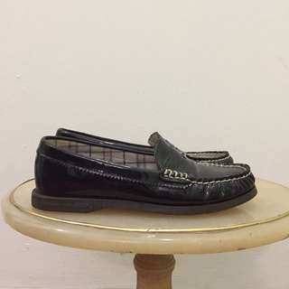 Authentic Sperry Top-Sider Black Loafer